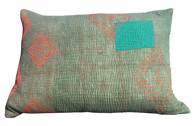 Kantha Pillow
