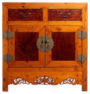 Elm U0026 Burl Wood Cabinet   Armoires   Dressers U0026 Armoires   Bedroom    Furniture | One Kings Lane