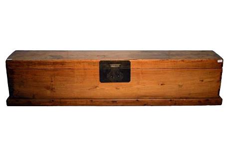 Antique Scroll Box