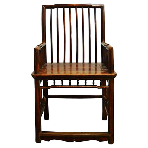 19th-C. Chinese Chair