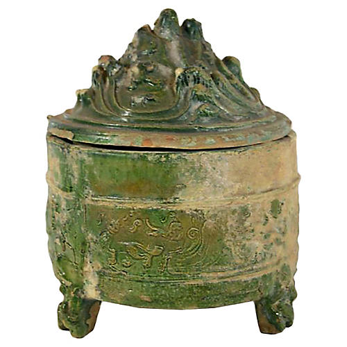 Antique Ming Terracotta Ceremonial Pot