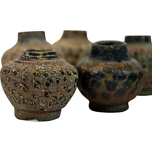 Thai Ceremonial Clay Vessels, S/3