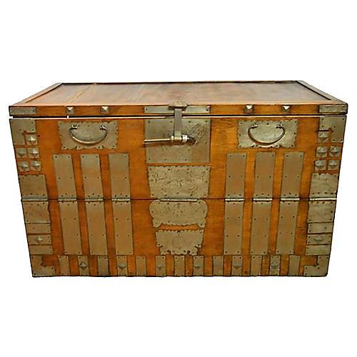 Antique Korean Storage Chest