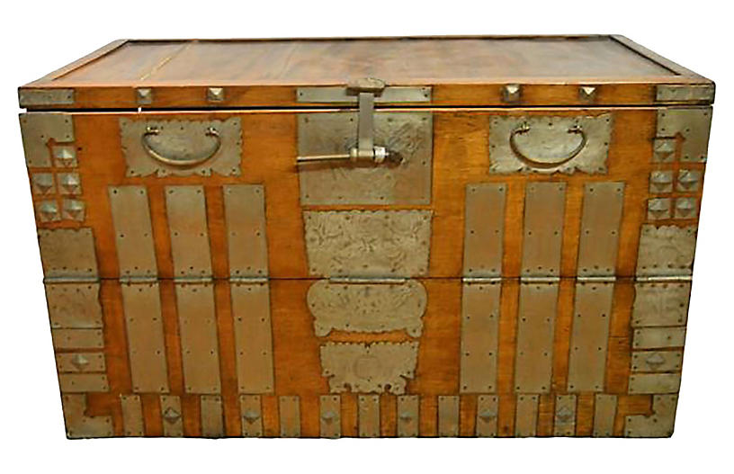 Antique Korean Storage Chest