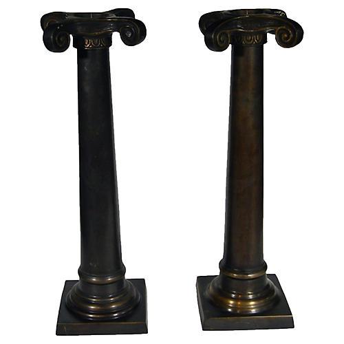 Column Candlesticks, Pair