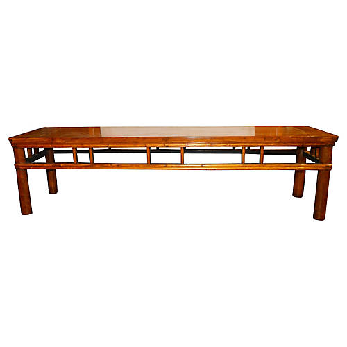 Antique Chinese Coffee Table/Bench
