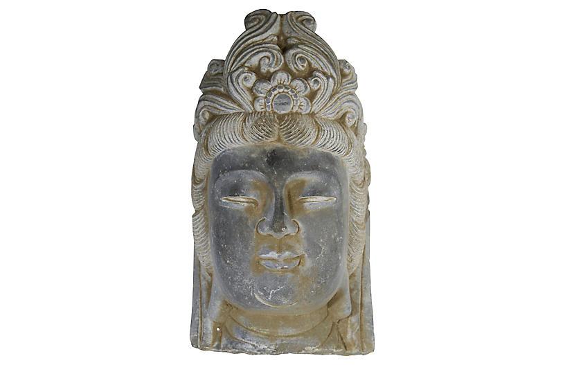 Quan Yin Stone Sculpture