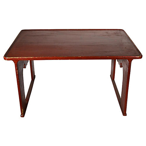 Japanese Wood Stand/Tray