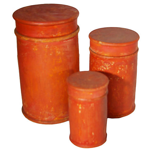 Nesting Condiment Boxes, S/3