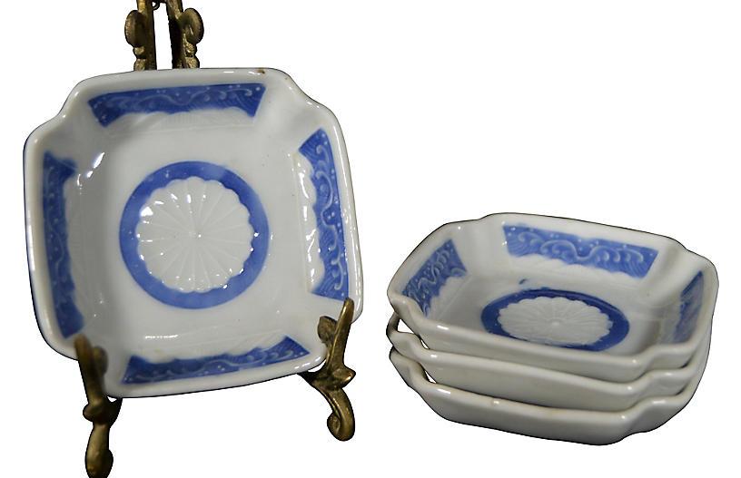 Japanese Imari Plates, S/4