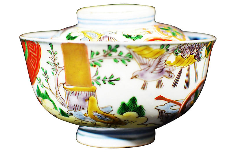 Antique Japanese Tea Ceremony Bowl