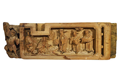 Antique Wood Carving