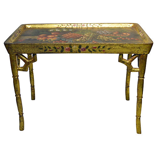 Hand-Painted Coffee Table