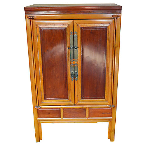 Antique Lacquered Armoire