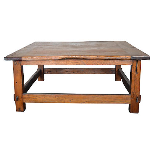 Indonesian Colonial Coffee Table