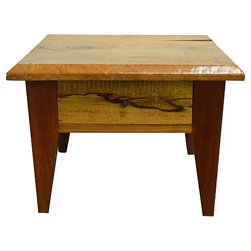 Indonesian Mango Wood Side Table