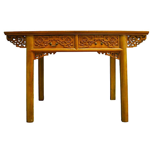 Antique Hand-Carved Chinese Altar Table
