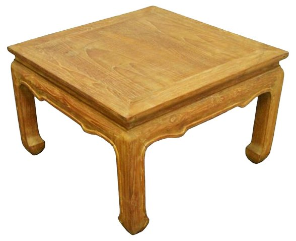 Square Thai Teak Coffee Table Furniture By Category One Kings Lane