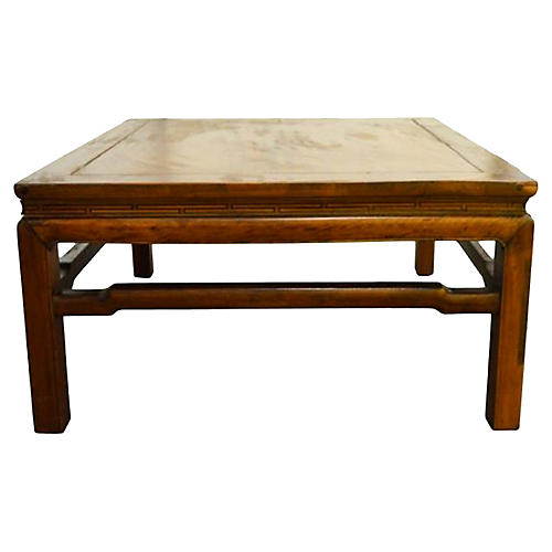 Antique Yumu Wood Coffee Table