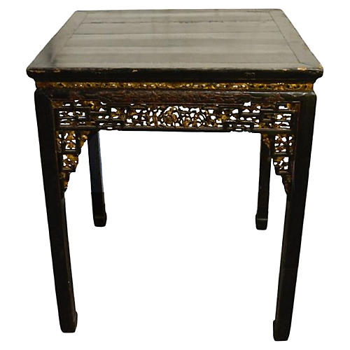 Antique Hand-Carved Table