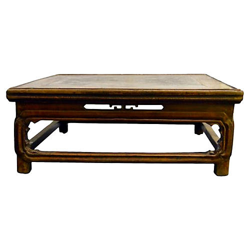 Antique Ceremonial Kang Table