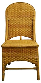 Rattan Plantation Chair   Desk Chairs   Office   Furniture | One Kings Lane