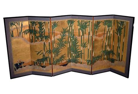 Six-Panel Landscape Screen