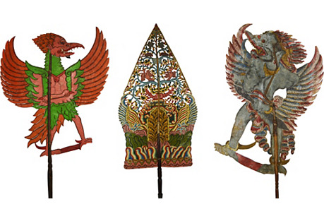 Balinese Shadow Puppets, S/3