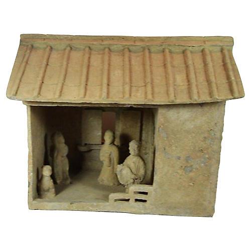 Han Dynasty Terracotta Farm House