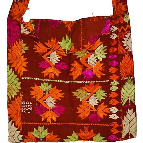 Hand-Sewn Indian Handbag