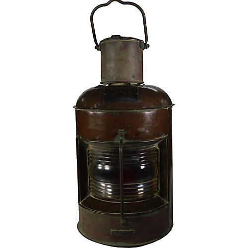 Nippon Side Light Oil Lamp