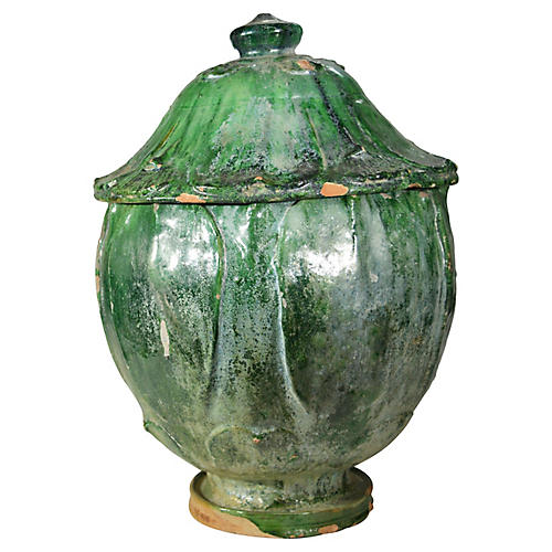 Antique Chinese Terracotta Vase / Jar