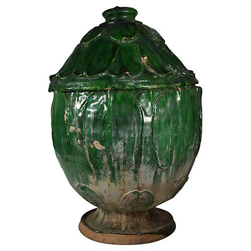 Antique Chinese Terracotta Vase
