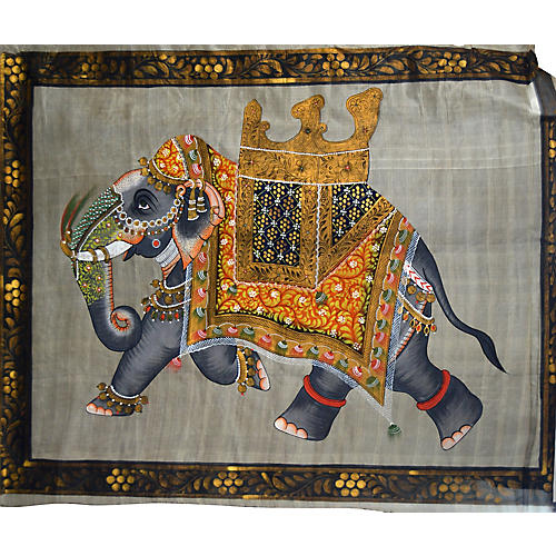 Antique Mughal Indian Painting