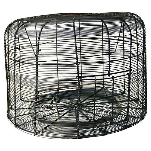 Antique Handmade Birdcage