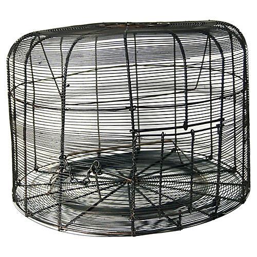 Antique Handmade Birdcage