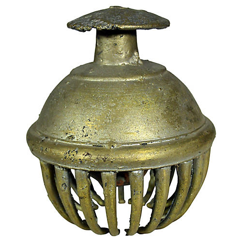 Antique Indian Temple Brass Bell