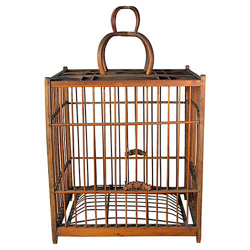 Antique Chinese Birdcage