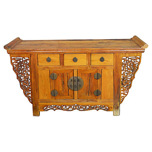 Carved Altar Coffer