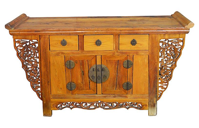 Carved Altar Coffer