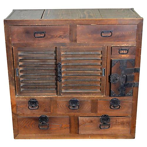 Antique Japanese Dresser