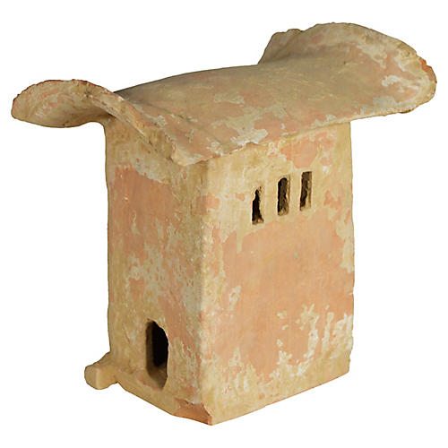 Antique Chinese Terracotta Burial House