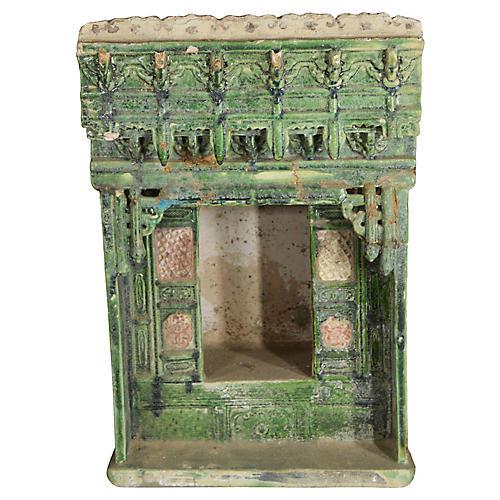 Antique Terracotta House Gate