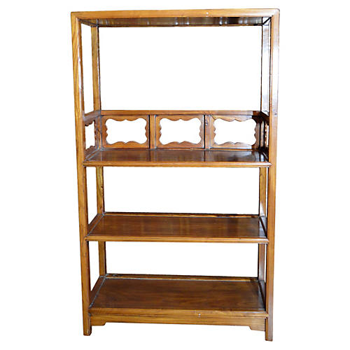 Chinese Bookcase w/ Medallions