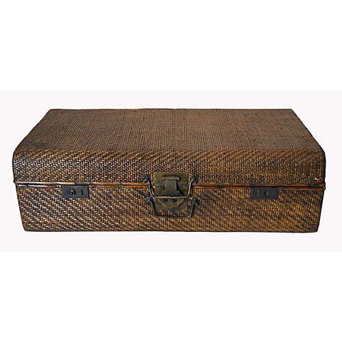 Rattan Suitcase