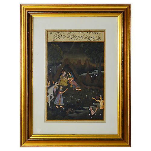 Antique Indian Painting