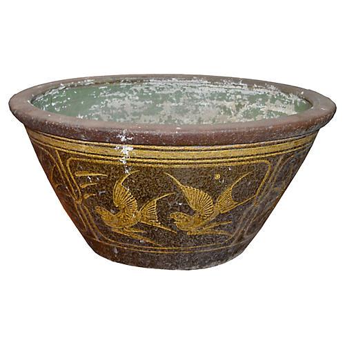 Antique Chinese Ceramic Bathtub