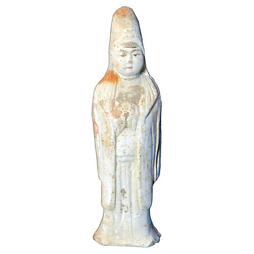 Antique Terracotta Statue