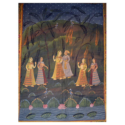 Antique Indian Pichwai Painting