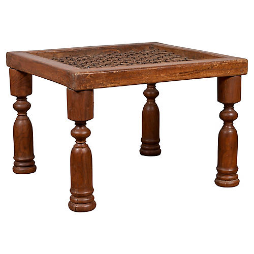 Indian 19th Century Window Gate Table